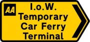 Red Funnel Terminal Changes During January