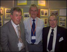 John Groves, David Jones and Rod Ainge