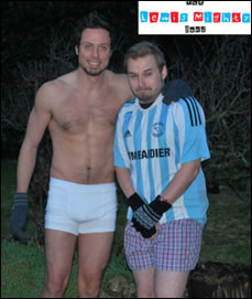 Look Out For The Charity Underpants This Weekend