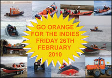 Go Orange for Independent Lifeboats