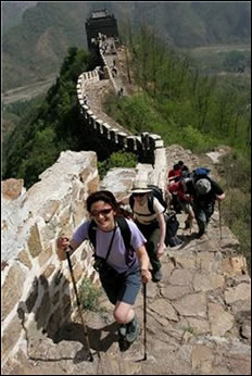 Trek The Great Wall of China For The Hospice