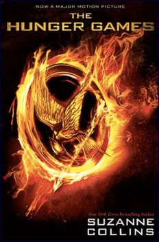 Hunger Games book cover: