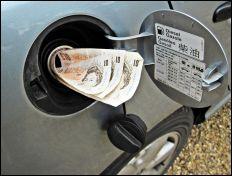 Money for petrol