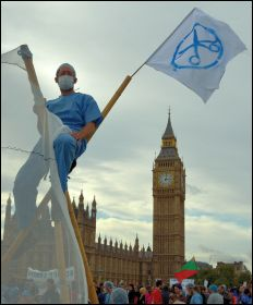 NHS Bill Protest