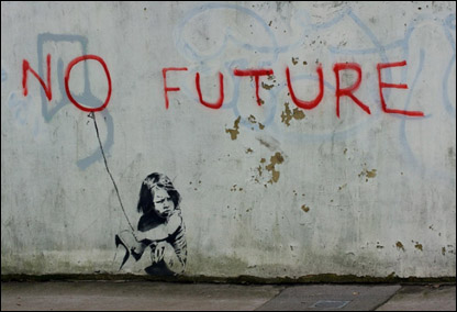 Banksy's No Future Found On South Coast