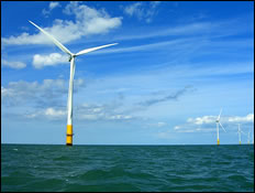 Off-Shore Wind Farm Approved Off West Wight