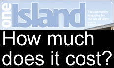 Costs Of Producing IWC's One Island Magazine