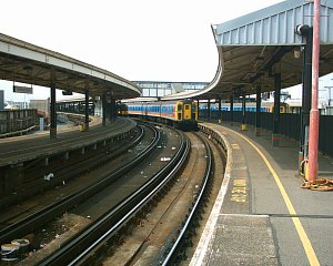 Portsmouth Train To Waterloo Now Running