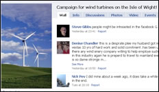 Pro-Wind Turbine Island Group Has Over 3,750 Members