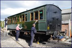Renovated carriage