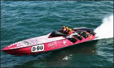 Ribex powerboat