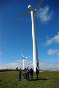 Visit To Roskrow Barton Wind Farm