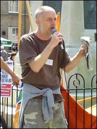 Vestas Protest: Mike Bradley Speech (video)