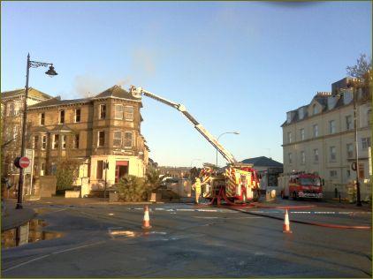 Savoy Hotel fire