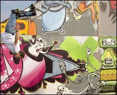 White Air 09: Secret Wars Live Art Battle
