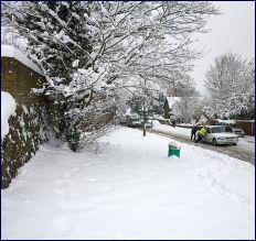 Snow road: