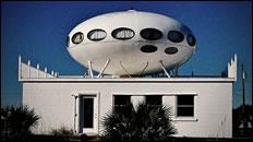 'UFO' on a house