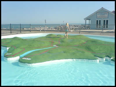 IOW Paddling Pool - Ventnor