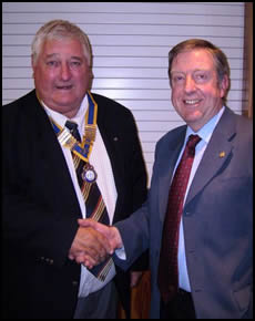 Ventnor Rotary Club Welcomes New President
