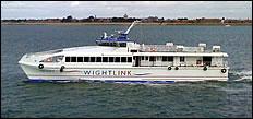 Wight Ryder II: New Wightlink Craft Spy Photos