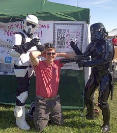 Justin Birch and Storm Troopers: