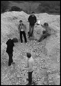 Bastila in a quarry