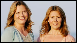 Liz Earle and Kim Buckland Bag A Pair Of MBEs