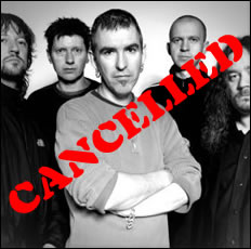 New Model Army Gig Cancelled