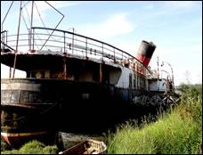 Islanders Urged to Help Save Paddle Steamer Ryde